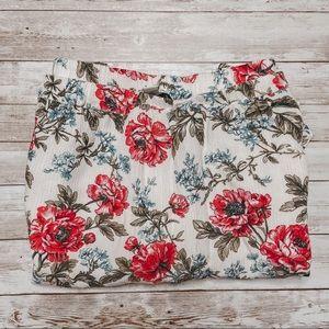 American Eagle | Floral Skirt